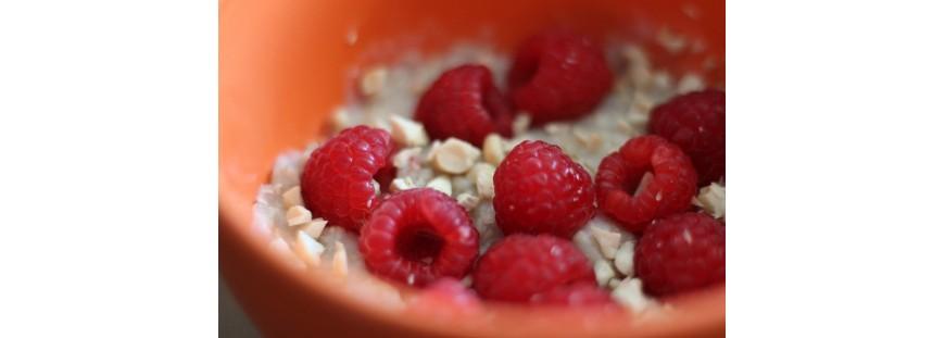 Porridge pour enfants aux framboises (dès 6-8 mois) :